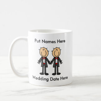 Mug Mariage gai masculin à customiser