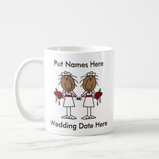 Mug Mariage lesbien à customiser