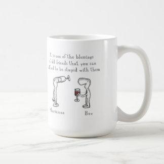 Mug Marianne et Bev