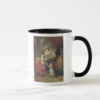Mug Marie-Caroline de Bourbon avec ses enfants