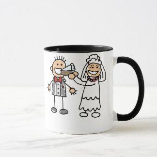 Mug Marié d'alimentations de jeune mariée