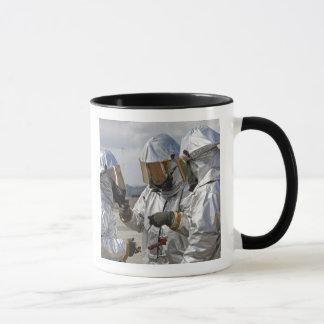 Mug Marines de sapeur-pompier de délivrance d'avions