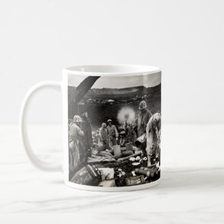 Mug Marines des USA de 2ÈME GUERRE MONDIALE sur Iwo