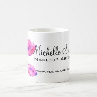Mug Marquage à chaud rose de maquillage de lèvres