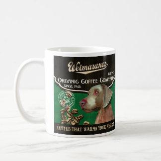 Mug Marque de Weimaraner - Organic Coffee Company