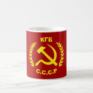 Mug Marteau et faucille de KGB CCCP