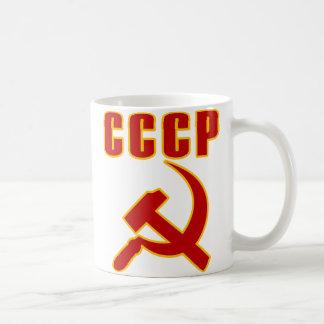 Mug marteau et faucille de l'URSS de cccp
