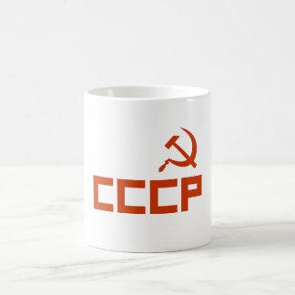 Mug Marteau rouge et faucille de CCCP