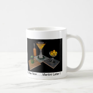 Mug Martini sale - café maintenant… Martini plus tard