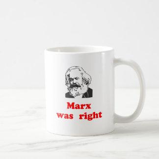 Mug marx était #2 droit