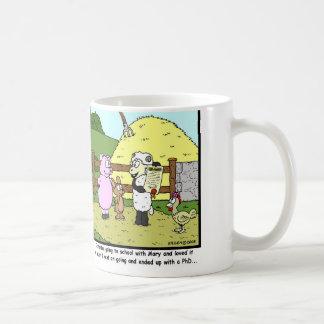 Mug Mary a eu un petit agneau, est allée à l'école un