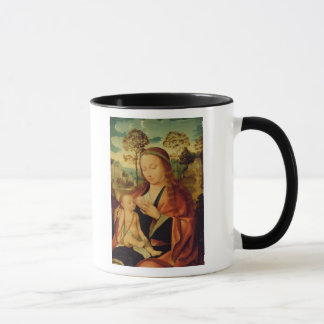Mug Mary avec l'enfant du Christ, début du 16ème