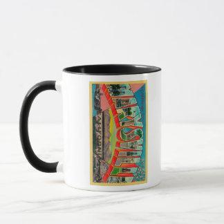 Mug Marysville, la Californie - grandes scènes de
