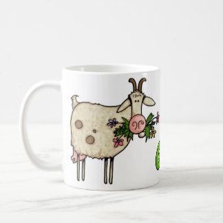Mug mauvaises herbes obtenues chèvre