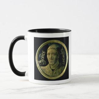 Mug Médaillon d'autoportrait, c.1450 (émail sur le
