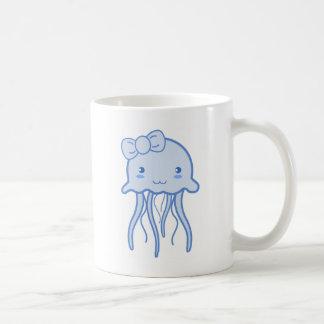 Mug Méduses mignonnes bleues