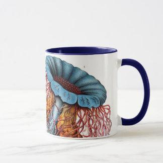 Mug Méduses vintages par Ernst Haeckel, Discomedusae