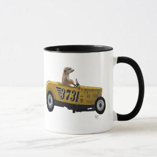 Mug Meerkat dans le hot rod 2