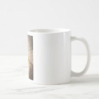Mug Meerkat drôle reposant la photo grunge d'effet
