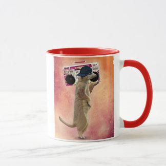 Mug Meerkat et caisson de basses