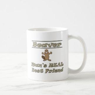 Mug Meilleur ami de l'homme de castor le vrai