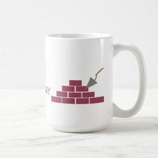 Mug Meilleur dans la pose de maçonnerie et de brique