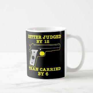 Mug Meilleur éprouvé d'arme à feu noire par 12