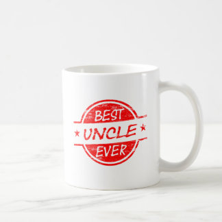 Mug Meilleur oncle Ever Red