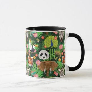 Mug Mélange animal tropical