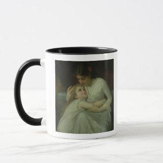 Mug Mère et enfant (huile sur la toile)