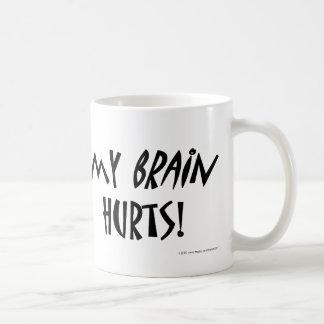 Mug Mes maux de cerveau !