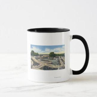 Mug MESA Verde national. Parc, le Colorado - temple de