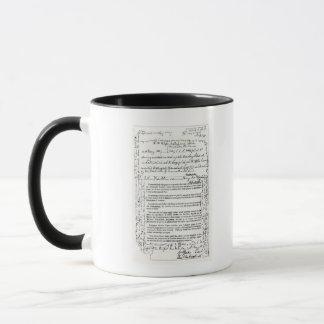 Mug Message de John Franklin