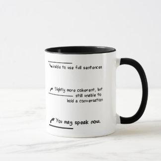 Mug Mesures de niveau de caféine