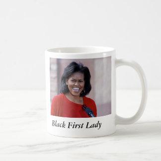 Mug Michelle obama, première Madame de noir