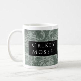 Mug Mince alors Moïse ! Noir de motif