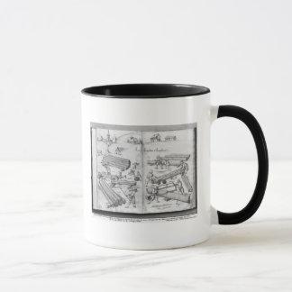 Mug Mine argentée des Croix-aux.-Mines de La, Lorraine