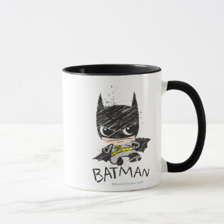 Mug Mini croquis classique de Batman
