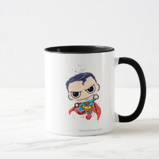 Mug Mini croquis de Superman - vol