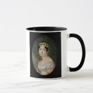 Mug Miniature de portrait de l'impératrice Josephine