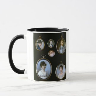 Mug Miniatures de portrait, de LtoR et de TtoB :