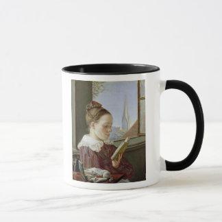 Mug Minna Wasmann, la soeur de l'artiste, 1822
