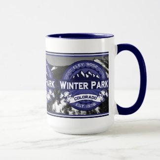 Mug Minuit de parc d'hiver