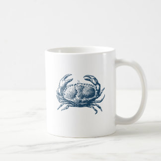 Mug Miscellaneous - Blue Vintage: Crab