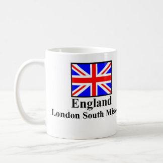 Mug Mission du sud Drinkware de l'Angleterre Londres