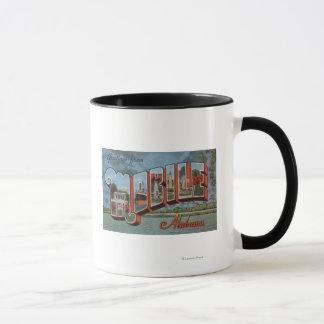 Mug Mobile, Alabama (scène de rivière)