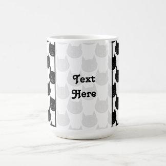 Mug Modèle de chat noir