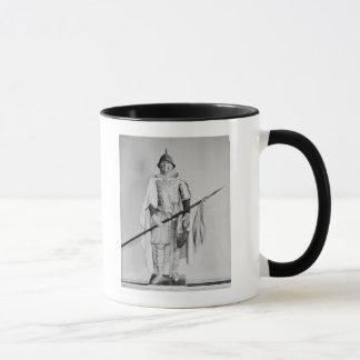 Mug Modèle d'un cavalier de Carolingian