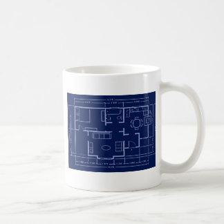 Mug modèle - plan de maison