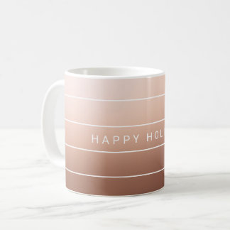 Mug Moderne simple bonnes fêtes